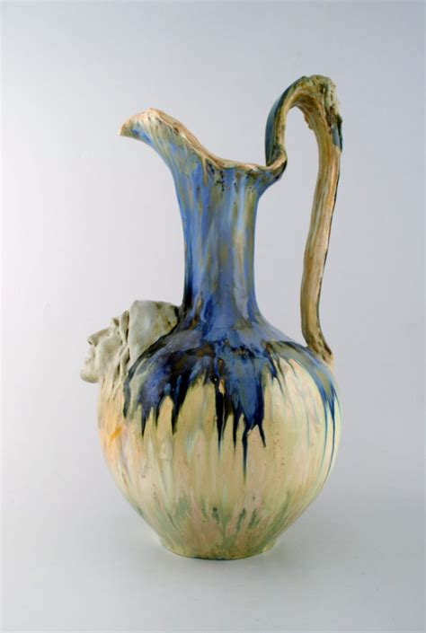 Art Nouveau Ewer by Alfred Renoleau | Collectors Weekly