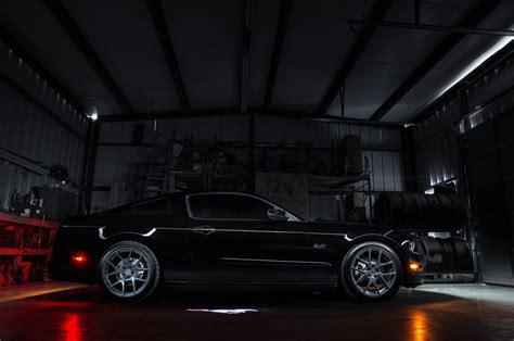 Ford Mustang GT, Ford, Ford Mustang, Muscle Cars, Black