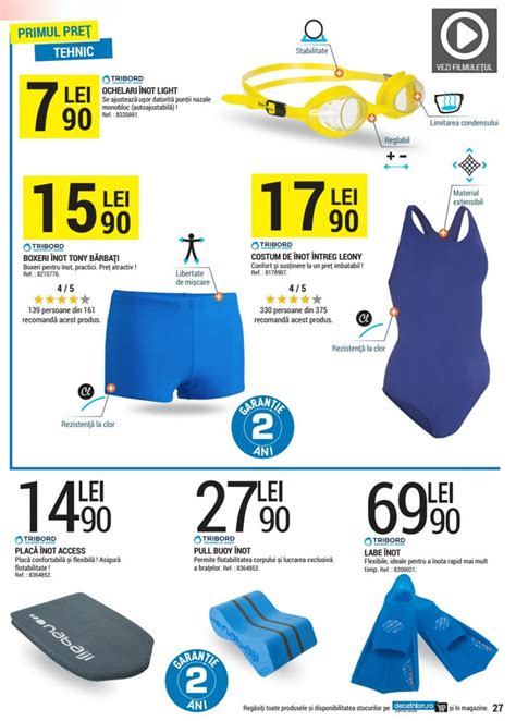 Catalog Decathlon August 2016 - Reduceri si