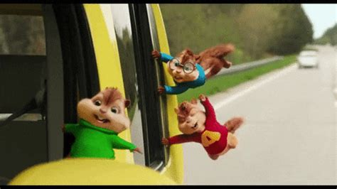 Alvin And The Chipmunks GIF by 20th Century Fox Home